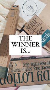 winnaar verwenpakket